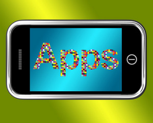 Mobile Phone Apps Smartphone Applications