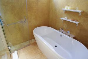 Modern bathroom interior detail decoration