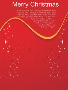 Modern Pattern Christmas Day Card