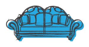 Modern Sofa Sketching