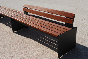Modern Wooden Bench