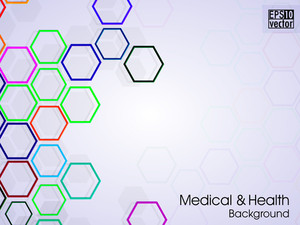 Molecules Background.