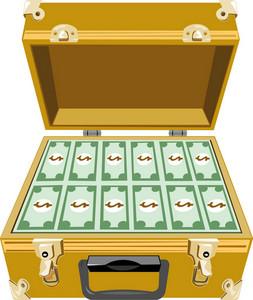 Money In Briefcase