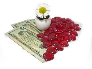 Money Love Background