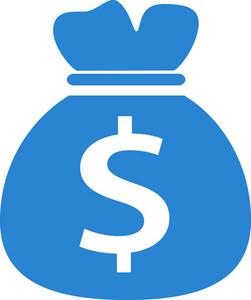 Money Sack Simplicity Icon