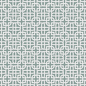 Monochromatic Arabic Pattern