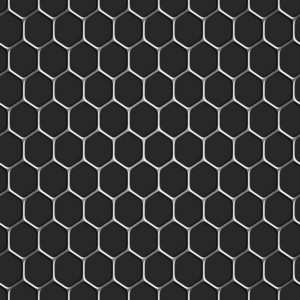 Monochromatic Honeycomb Seamless Pattern Background