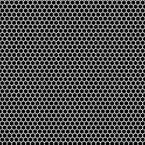 Monochrome Black And White Chain Link Pattern