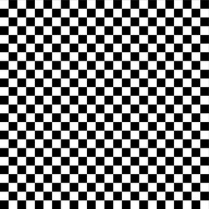 Monochrome Black And White Checkerboard Pattern