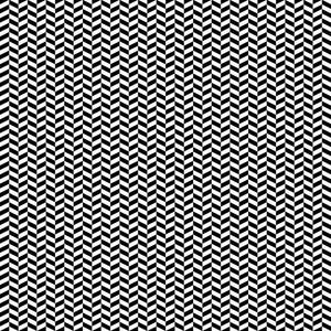 Monochrome Black And White Chevron Pattern