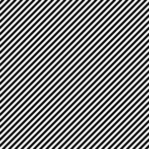 Monochrome Black And White Diagonal Stripes Pattern