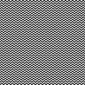 Monochrome Black And White Chevron Pattern