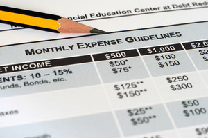 Monthly Expense Guidelines