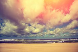 Morning marine landscape