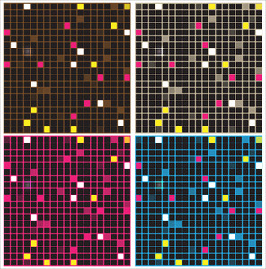 Mosaic Backgrounds Vectors