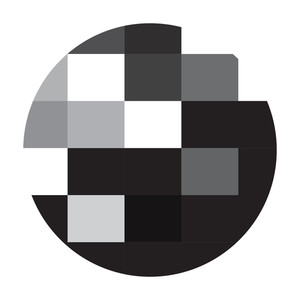 Mosaic Circle Frame