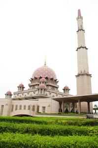 Mosque Putrajaya. Malaysia