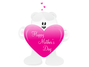 Mother Day Heart With Taddy