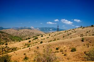 Mountain hills