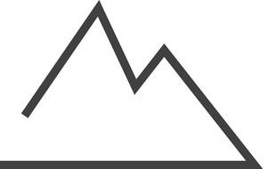 Mountain Minimal Icon