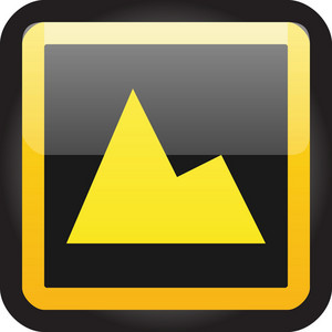 Mountain Peaks Tiny App Icon