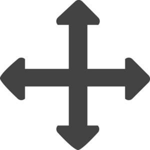 Move Glyph Icon