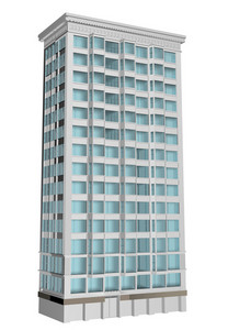 Multi Level Building 3d