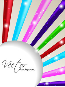 Multicolor Abstract Background With Circles.