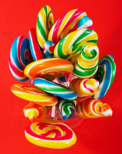 Multicolored Tasty Sticky Candy