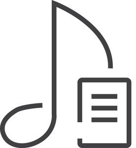 Musi 4 Minimal Icon
