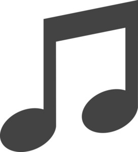 Music 1 Glyph Icon