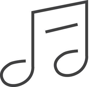 Music 1 Minimal Icon