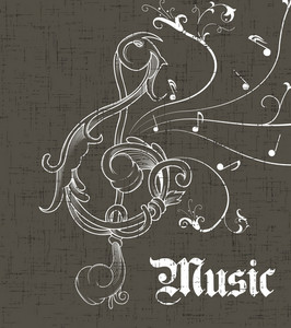 Music Background Vector Illustration