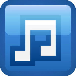 Music Blue Tiny App Icon