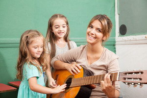 music class in the kindergarden