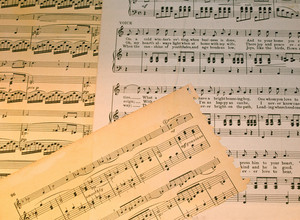 Music Notes Papers