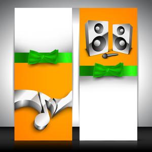Musical Banner Set