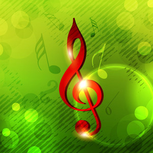 Musical Notes Can Be Use As Banner