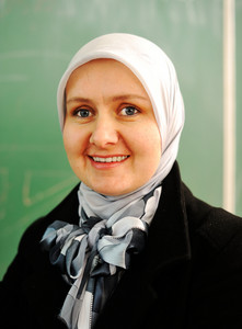 Muslim Arabic Teacher at school