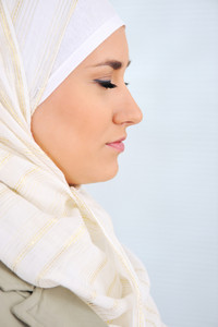Muslim Arabic woman