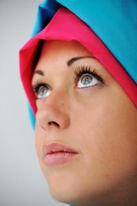 Muslim girl with hijab