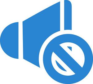 Mute Speaker Simplicity Icon