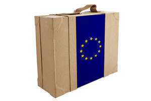 Nation Flag. Box Recycled Paper