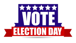 National Usa Election Day Vector Illustration