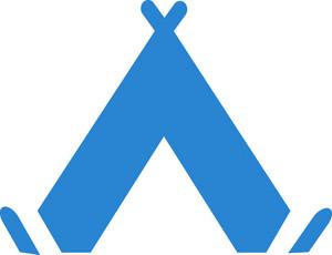 Native American Tipi Simplicity Icon