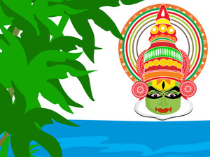 Natural Background For Onam