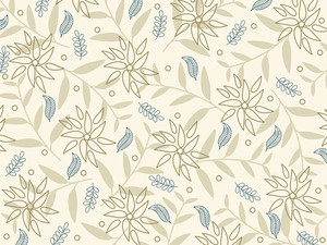 Natural Background With Seamless Pattern