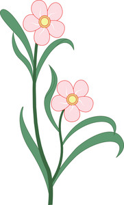 Natural Flower Clipart