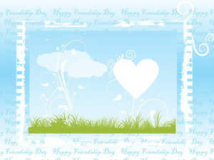 Natural Pattern Friendship Day Card