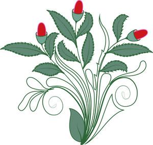 Nature Floral Element Art